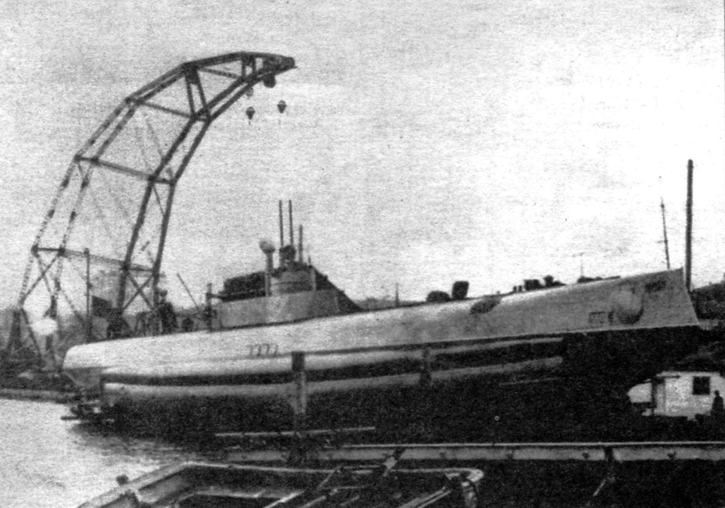 Первый в мире подводный минный заградитель «Краб»