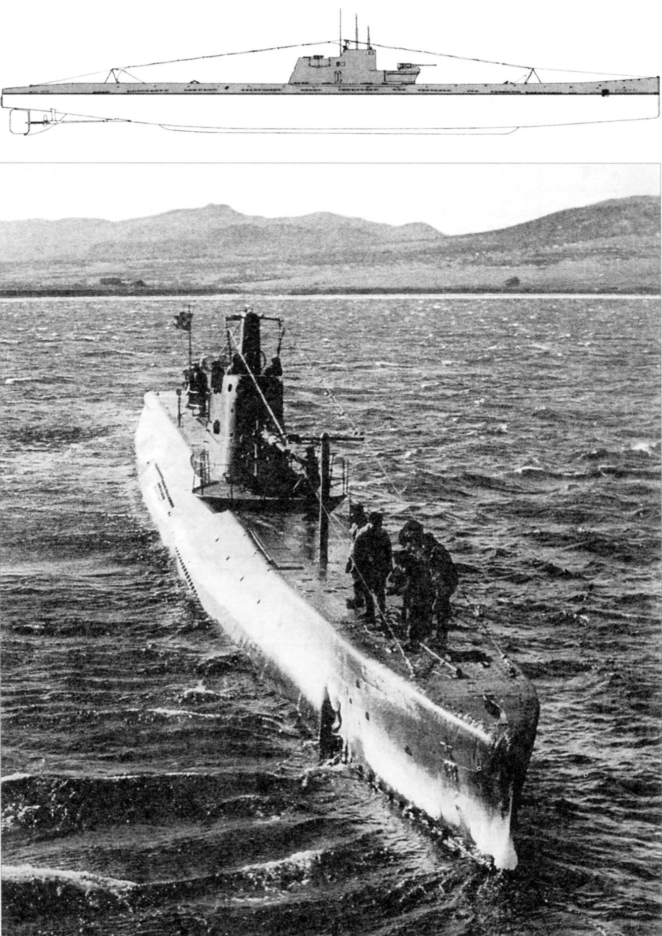 Подводная лодка «Л-1» («Ленинец»), 2-я серия, СССР, 1930 г.
