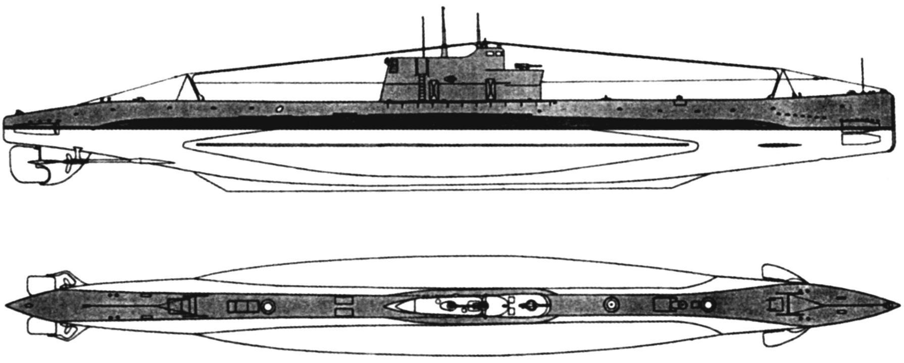 Подводная лодка «Щ-301» («Щука»), 3-я серия, СССР, 1933 г.