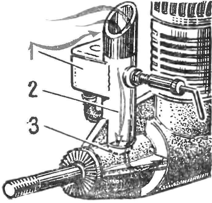 Рис. 2. Настроенный по длине всасывающий тракт
