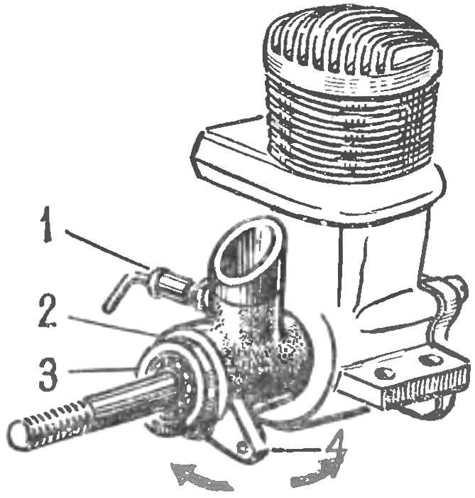 Fig. 3. Swivel clip for variable valve timing with the engine running