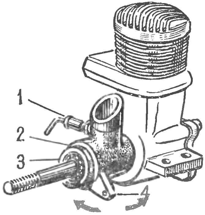 Рис. 3. Поворотная обойма для изменения фаз газораспределения на работающем двигателе