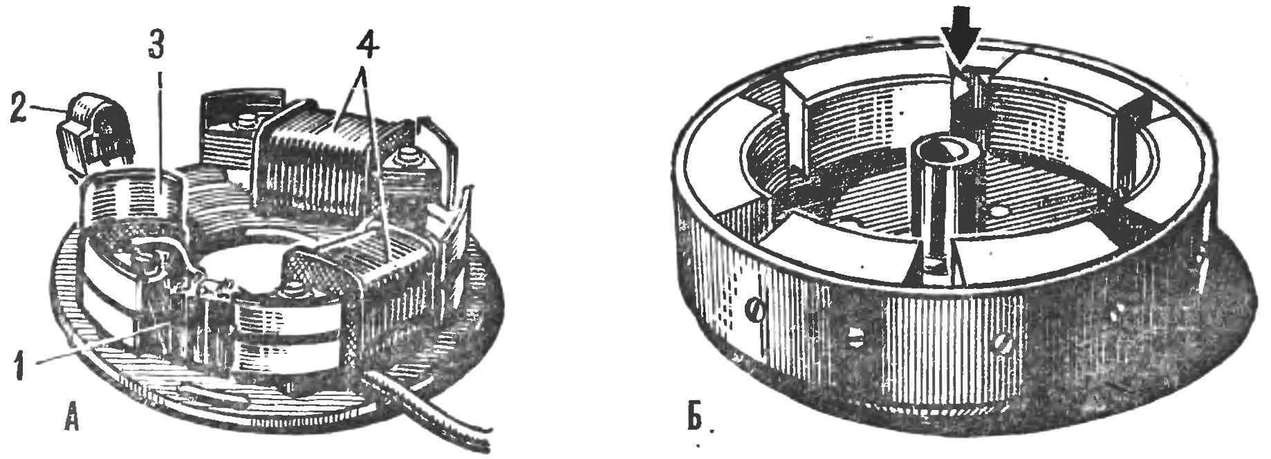 Рис. 7. Детали системы электронного зажигания