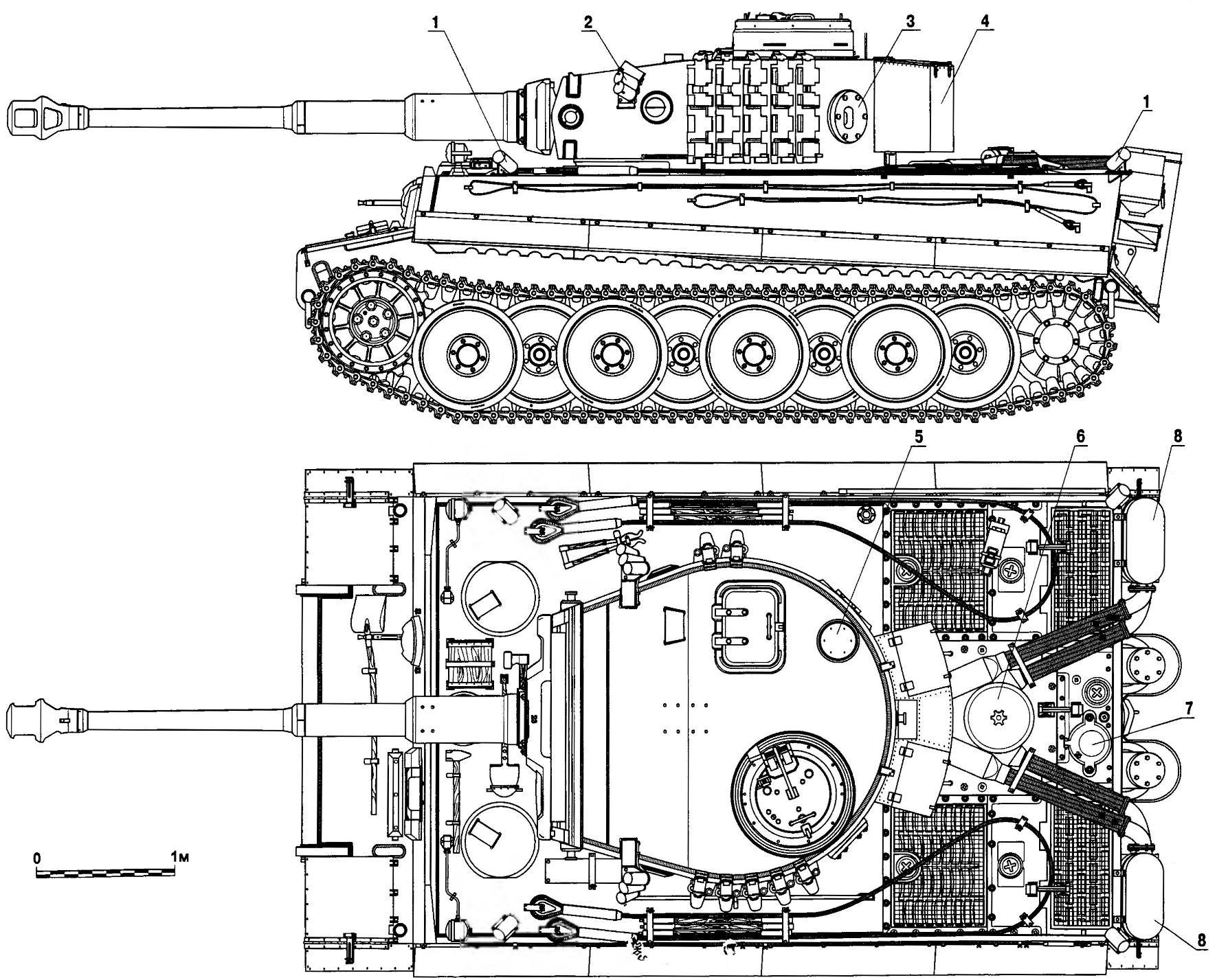 Heavy tank Pz.VI Ausf.E