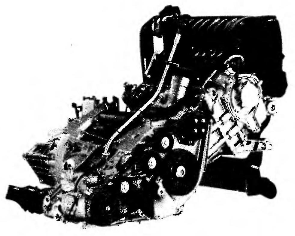 Силовой агрегат автомобиля