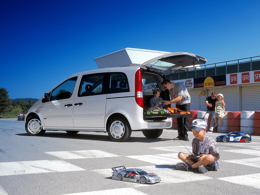 Развитие конструктивной схемы автомобиля А-класса— минивэн MERCEDES-BENZ VANEO