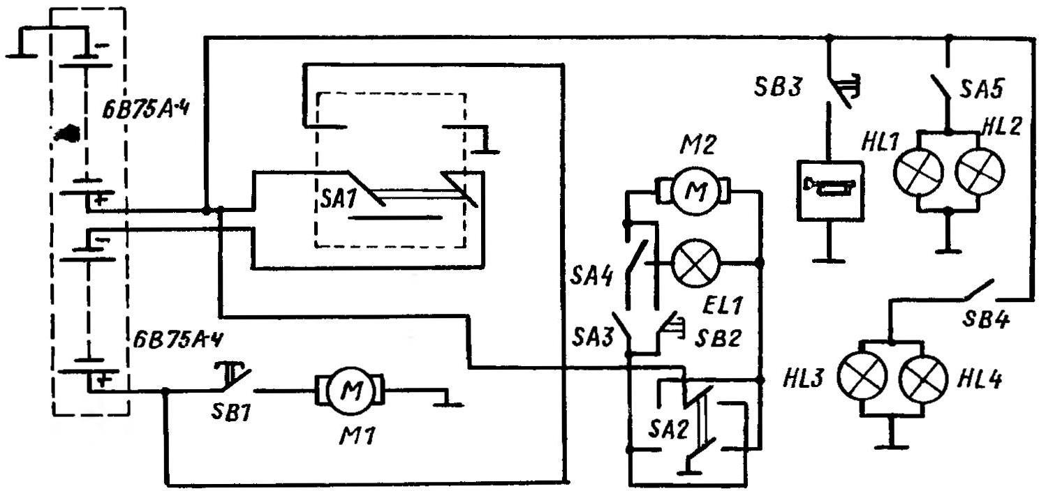 Детские электромобили схема и инструкция