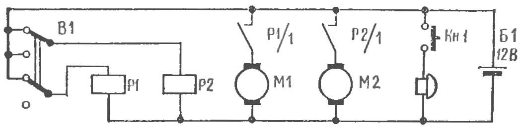 Рис. 3. Электросхема