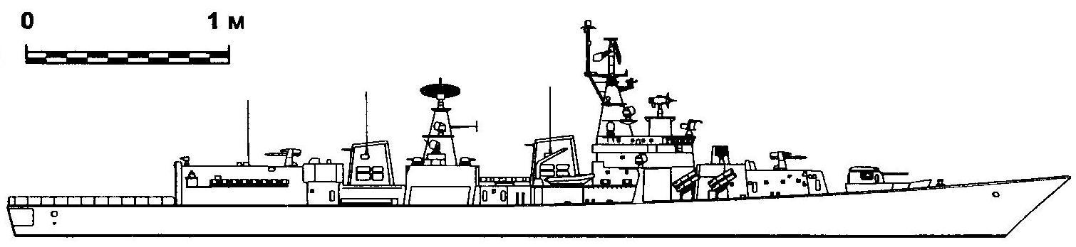 348. Эсминец «Дели», Индия, 1997 г.