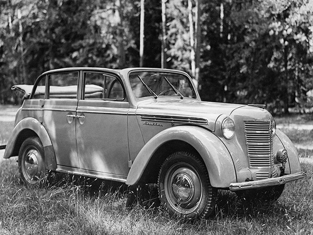 «Москвич-420А» с кузовом «кабриолет» (1949 г.)