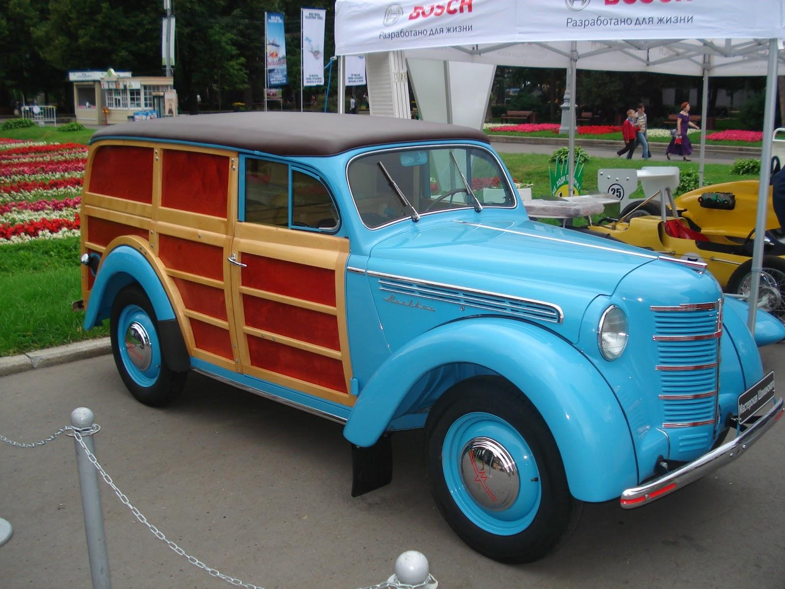 «Москвич-422» с кузовом «фургон» (1947 г.)