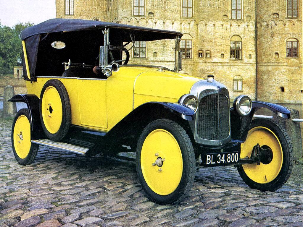 CITROEN 5(5CV) — самый массовый автомобиль во Франции в 1922 г.