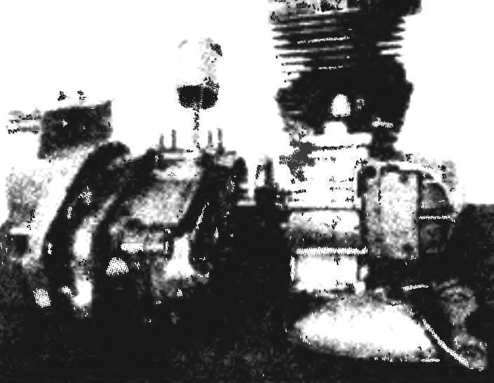Силовая установка из спаренных двигателей