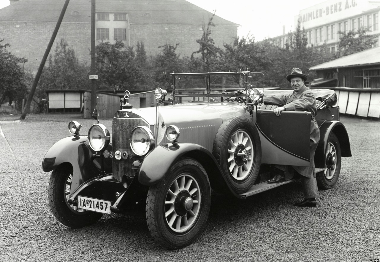 MERCEDES 24/100/140PS конструкции Ф.Порше (1924 г.)