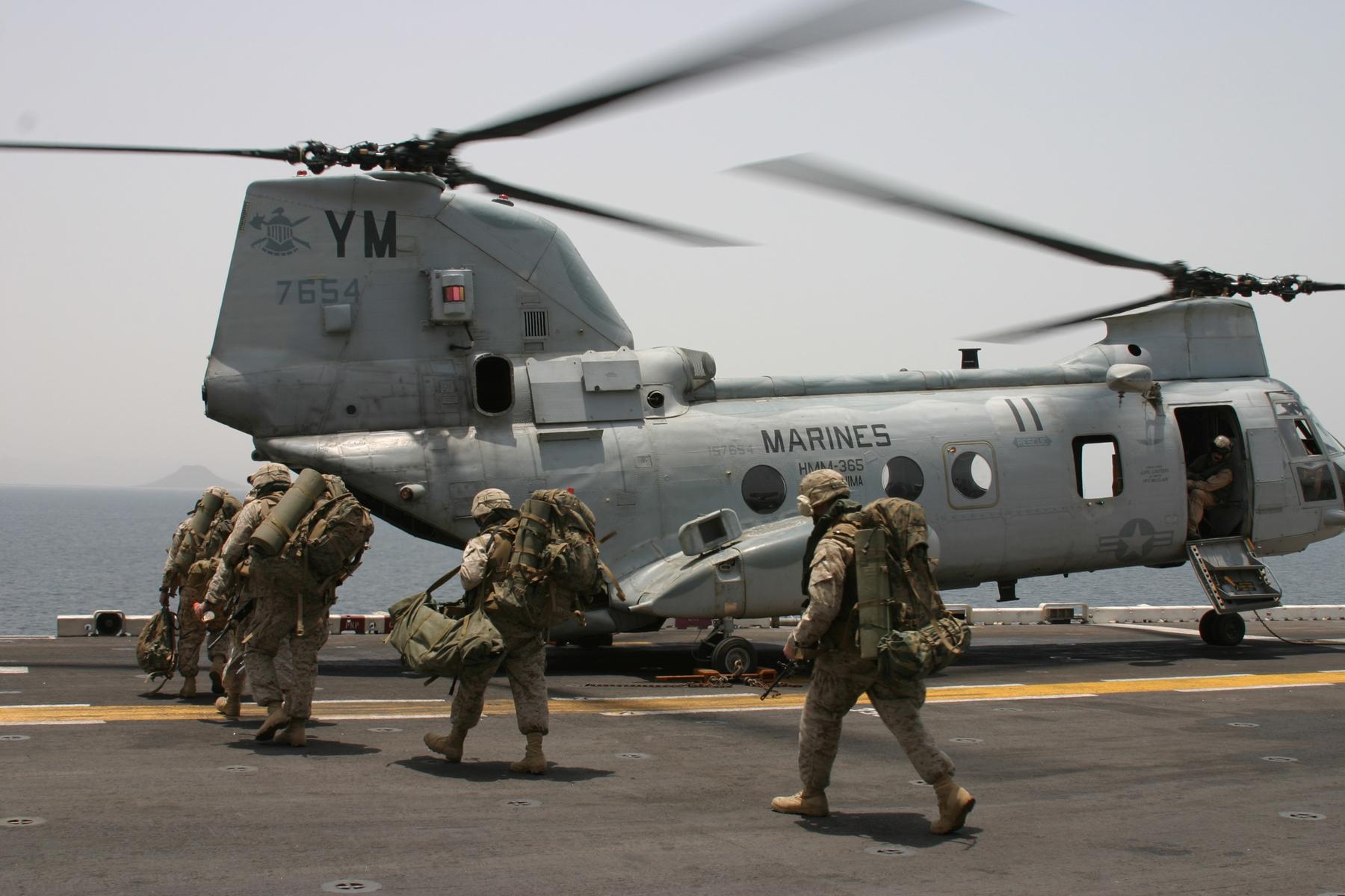 BOEING VERTOL CH-46