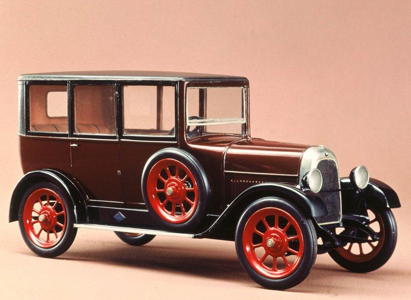 FIAT-501 — первый итальянский массовый легковой автомобиль (1919 г.)