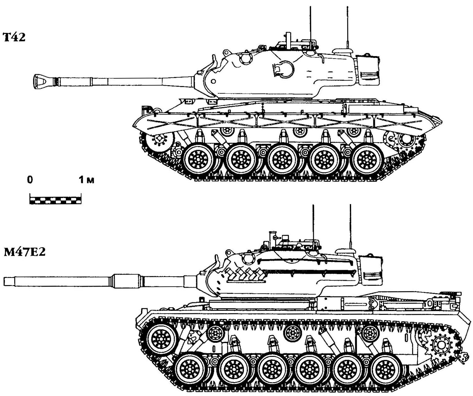 T42 and M47E2