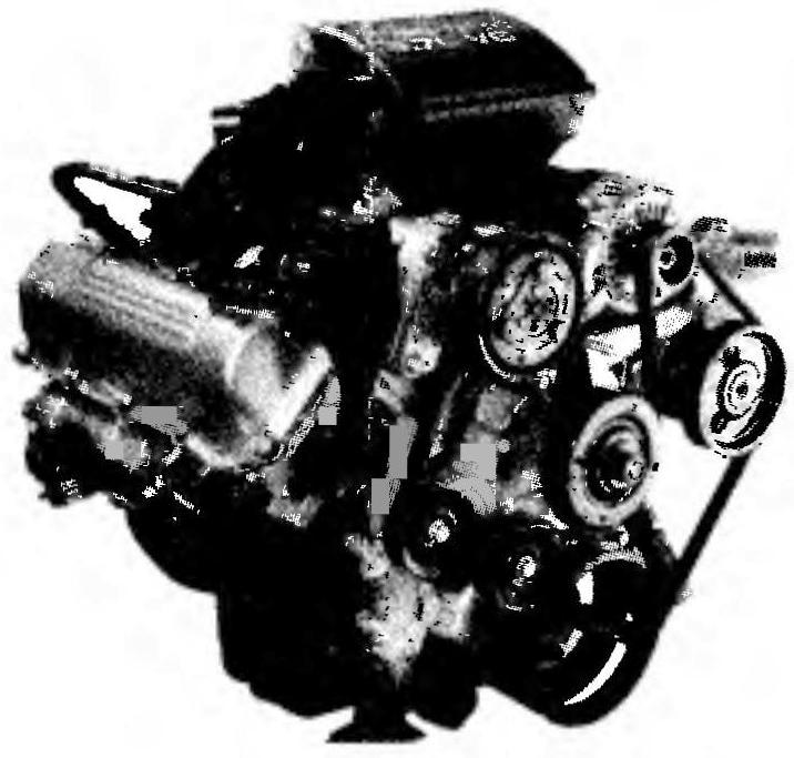 Шестицилиндровый V-образный двигатель нового джипа мощностью 211 л.с. представляет собой уменьшенную на два цилиндра «восьмерку» от GRAND CHEROKEE