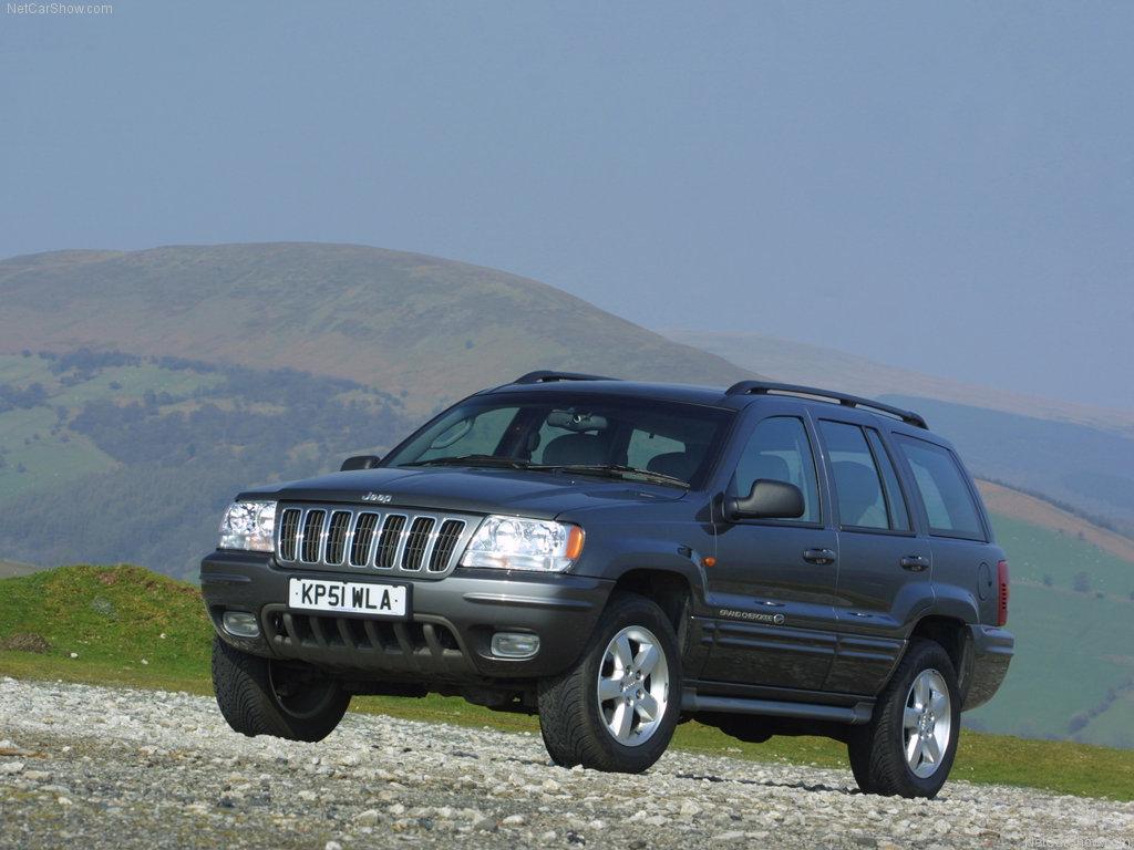 Автомобиль повышенной проходимости, мощности и комфортабельности JEEP GRAND CHEROKEE