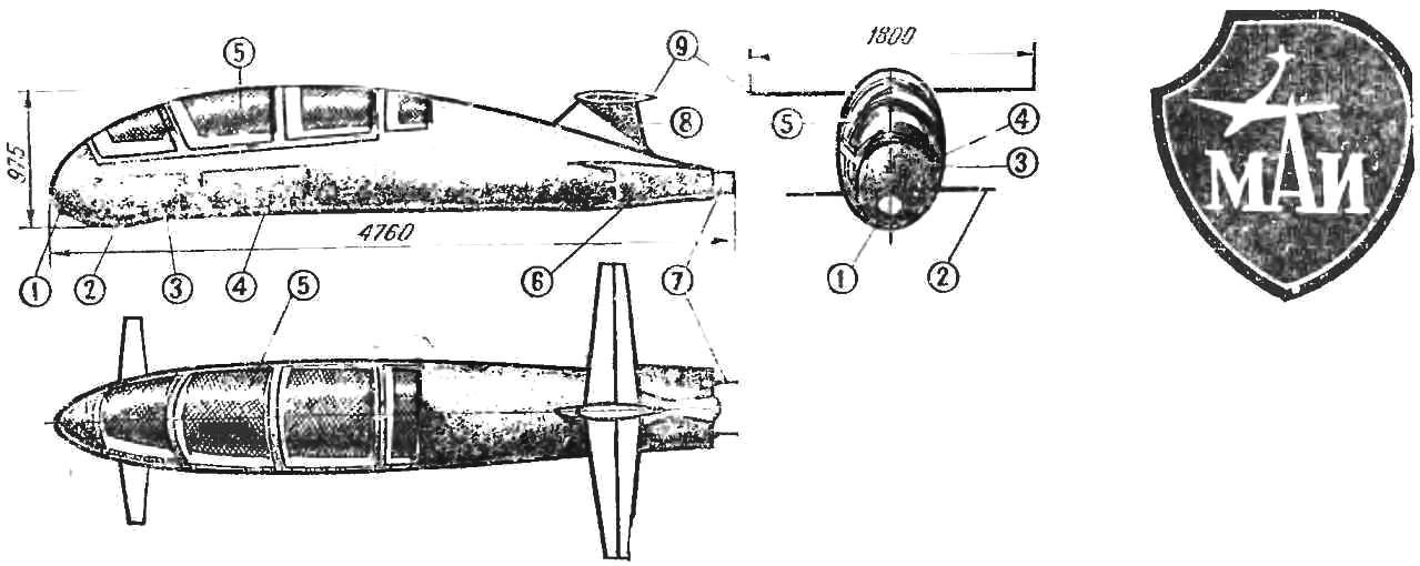 Fig. 1. Scheme boat