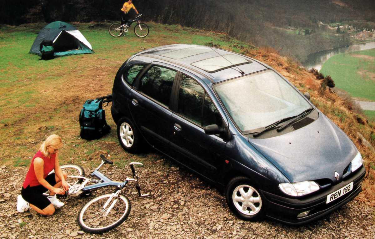 Минивен RENAULT MEGAN SCENIC — обладатель титула «Автомобиль года» (1996 г.)