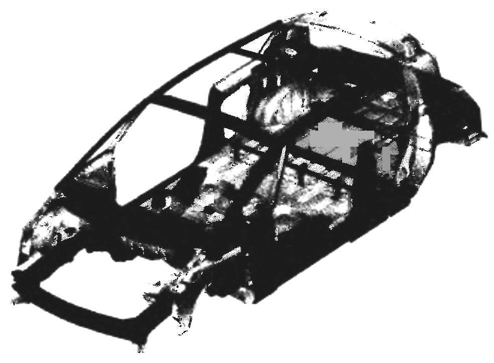 Конструкция каркаса кузова RENAULT AVANTIME