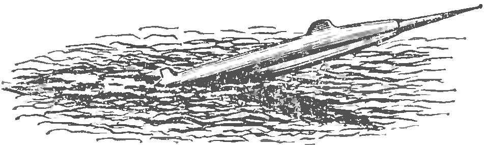Рис. 2. Скоростная подводная лодка.