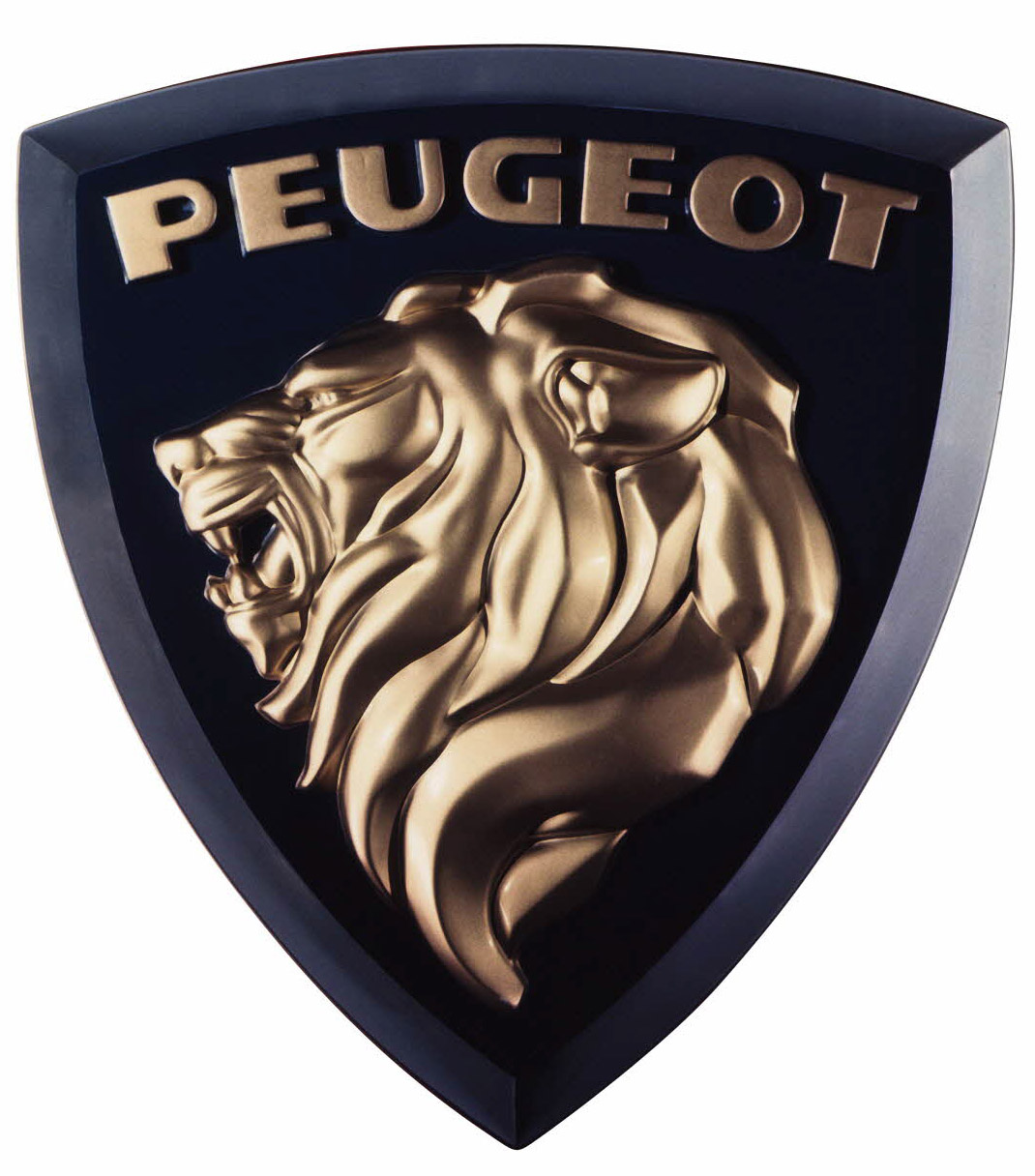 Lion logo Peugeot