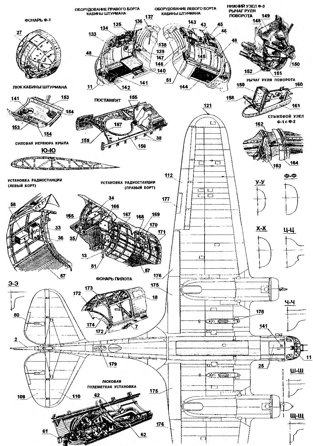 Скоростной фронтовой бомбардировщик СБ-2