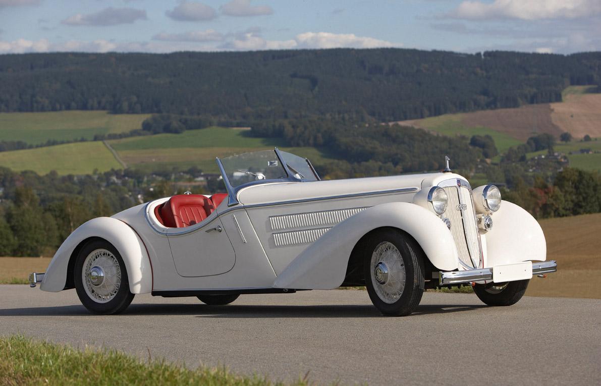 AUDI FRONT 1935 года — один из первых массовых переднеприводных автомобилей