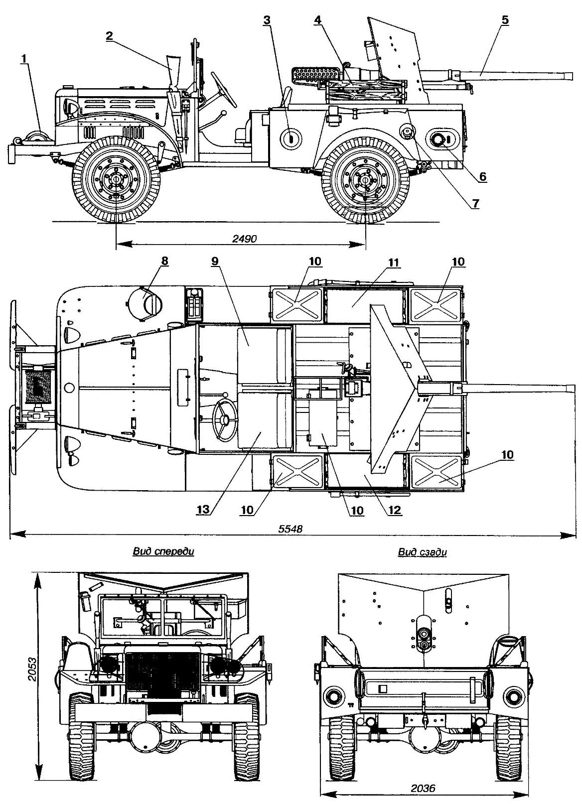 М6 37 mm GMC