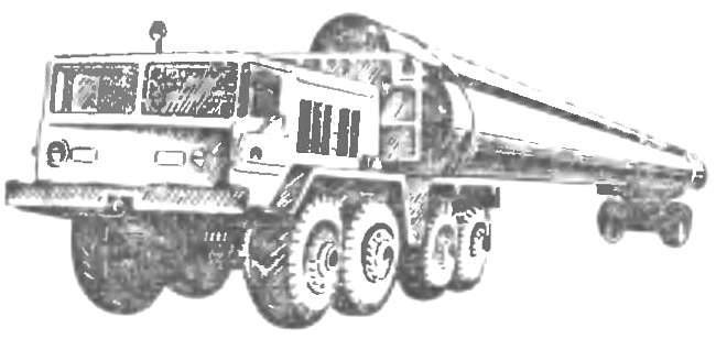 Рис. 3. Плетевоз ПВ481.