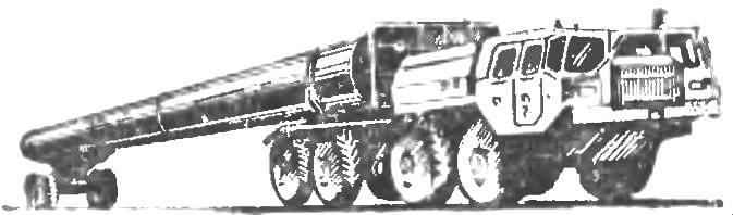 Рис. 6. Плетевоз ПВ301.