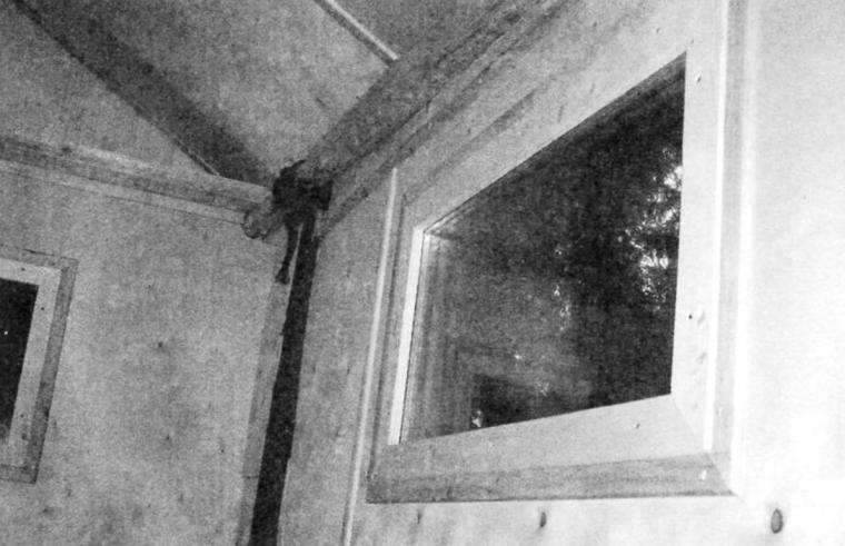 Внутренняя отделка домика