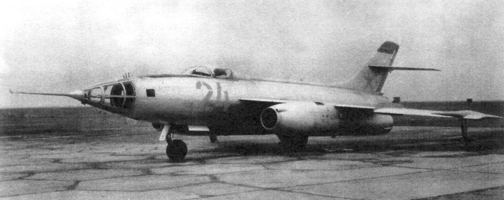 Як-27Р на войсковых испытаниях