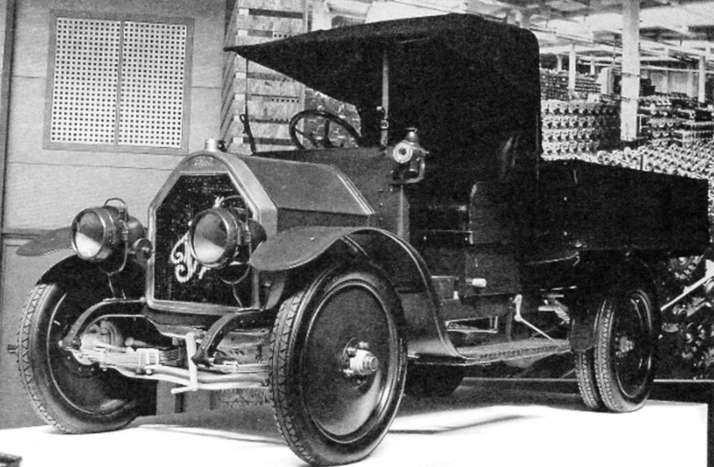 Предшественник АМО-Ф15 — FIAT 15 Ter