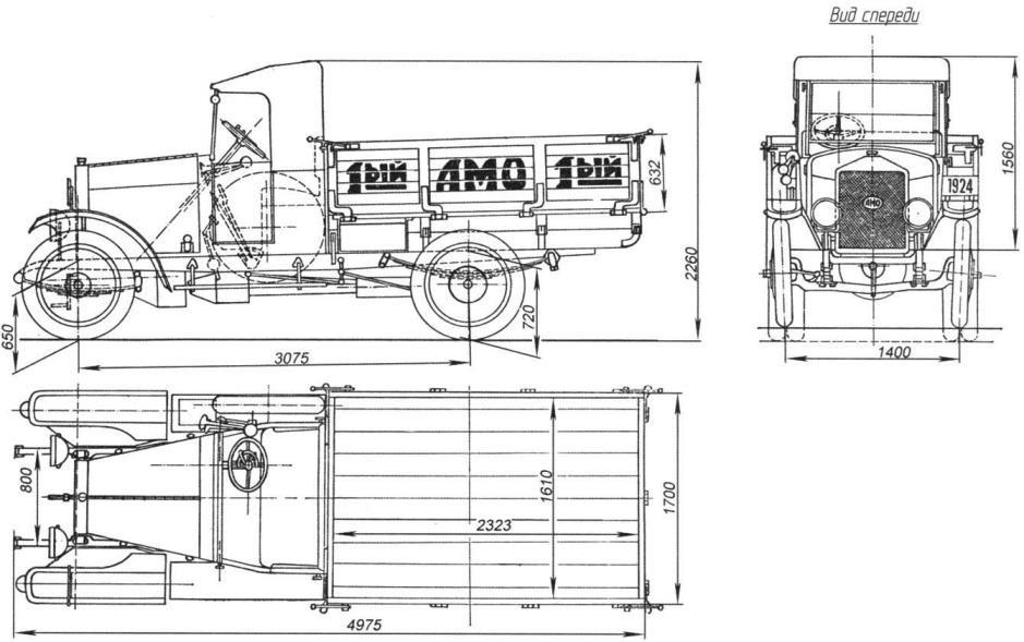 Автомобиль АМО-Ф15