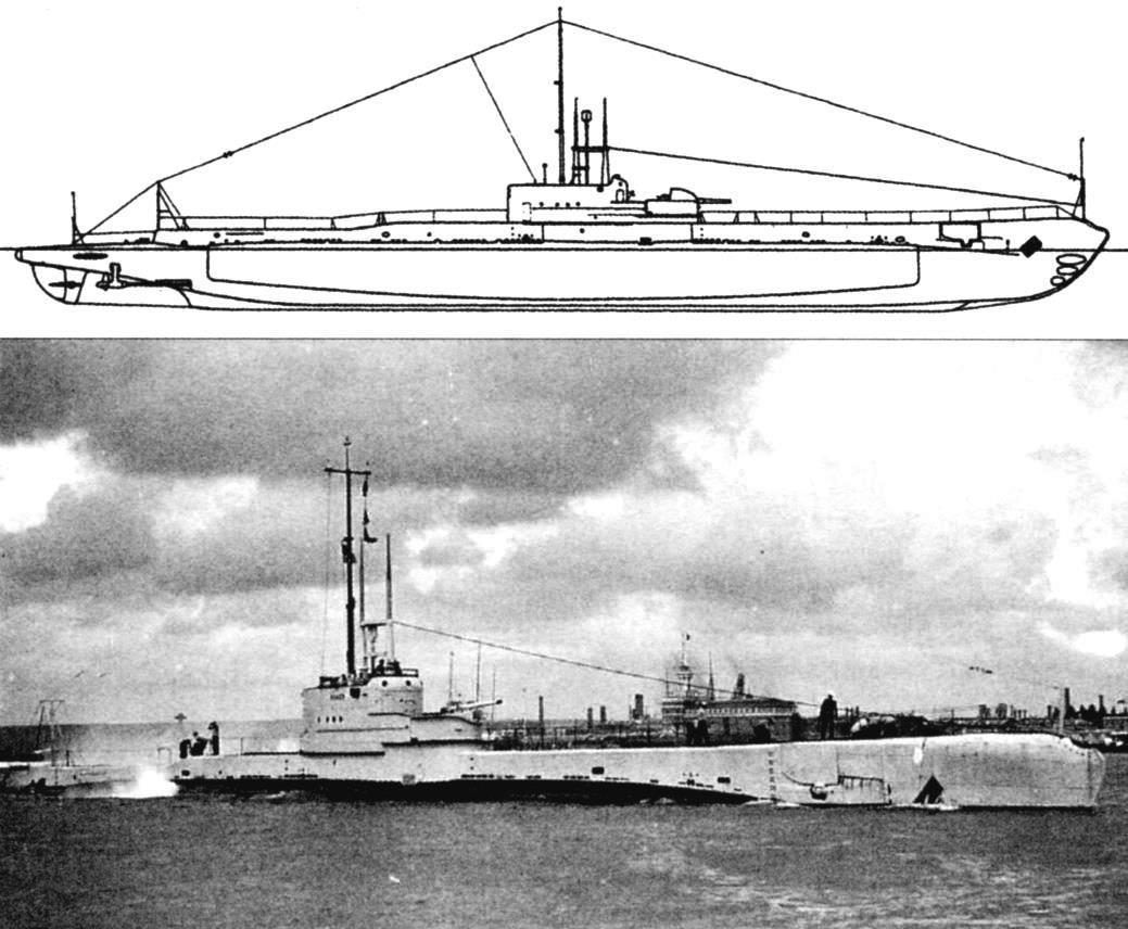 Подводная лодка «Ровер», Англия, 1931 г.