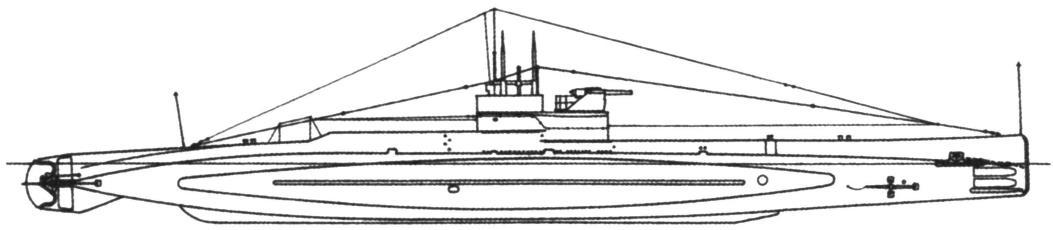 Подводная лодка «L-12» (тип «L», серия II), Англия, 1918 г.