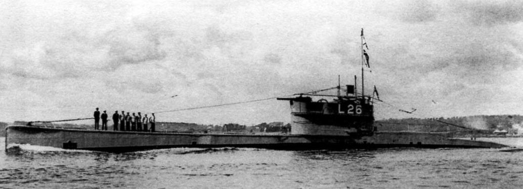 Минный заградитель, достроенный из субмарины «L-26»