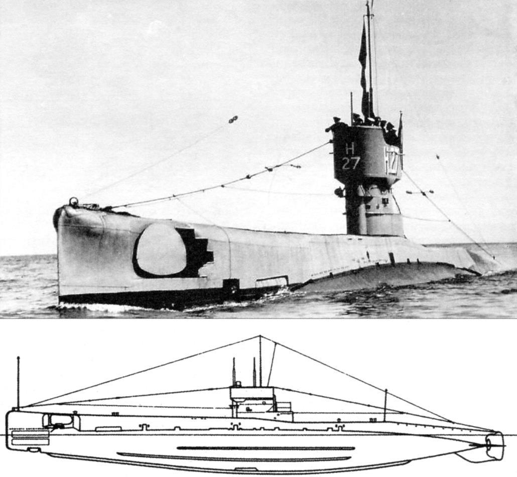 Подводная лодка «Н-33», Англия, 1919 г.