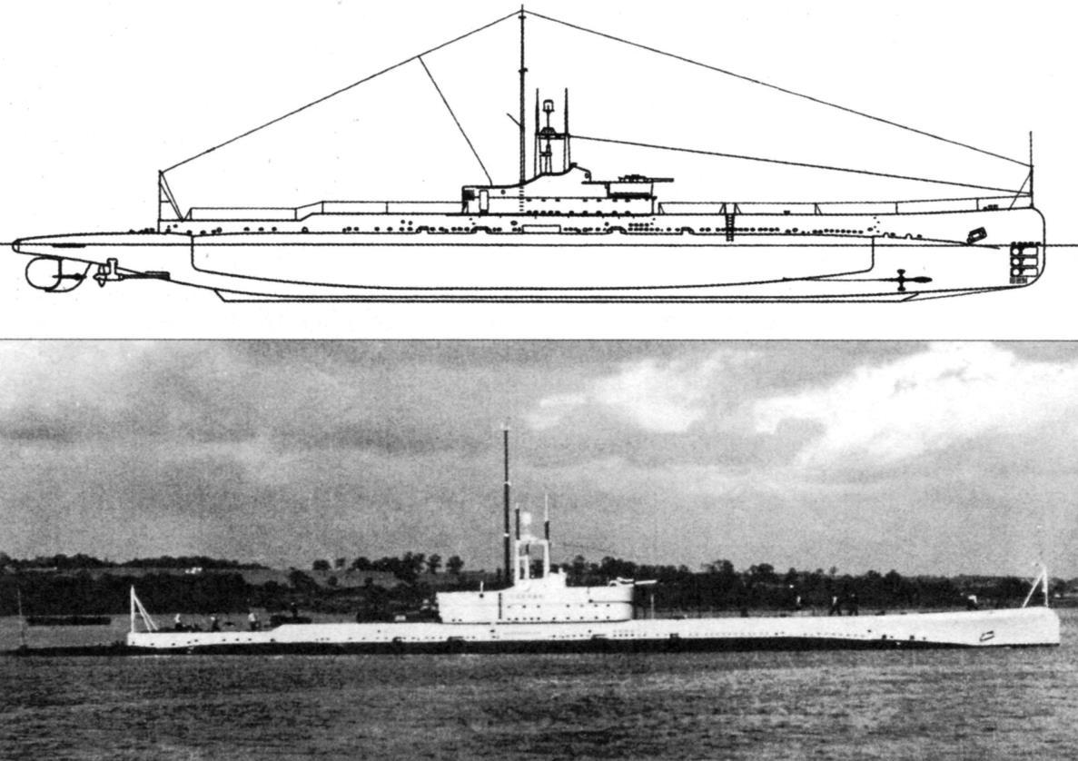 Подводная лодка «Оберон», Англия, 1927 г.