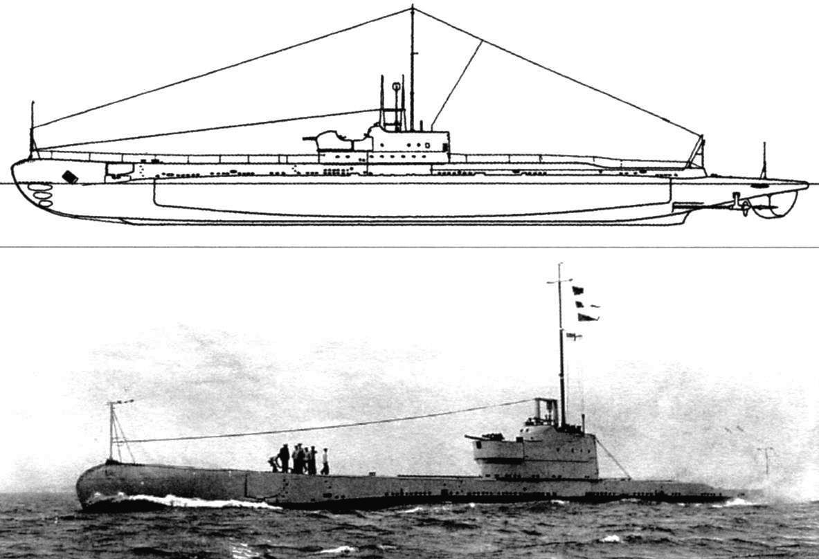 Подводная лодка «Пандора», Англия, 1931 г.