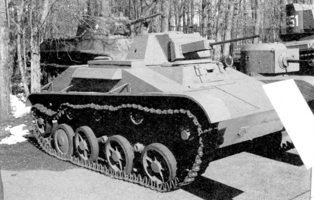 Лёгкий танк Т-60, вооружённый 20-мм автоматической пушкой ШВАК; его собирались перевозить на планёре А-40