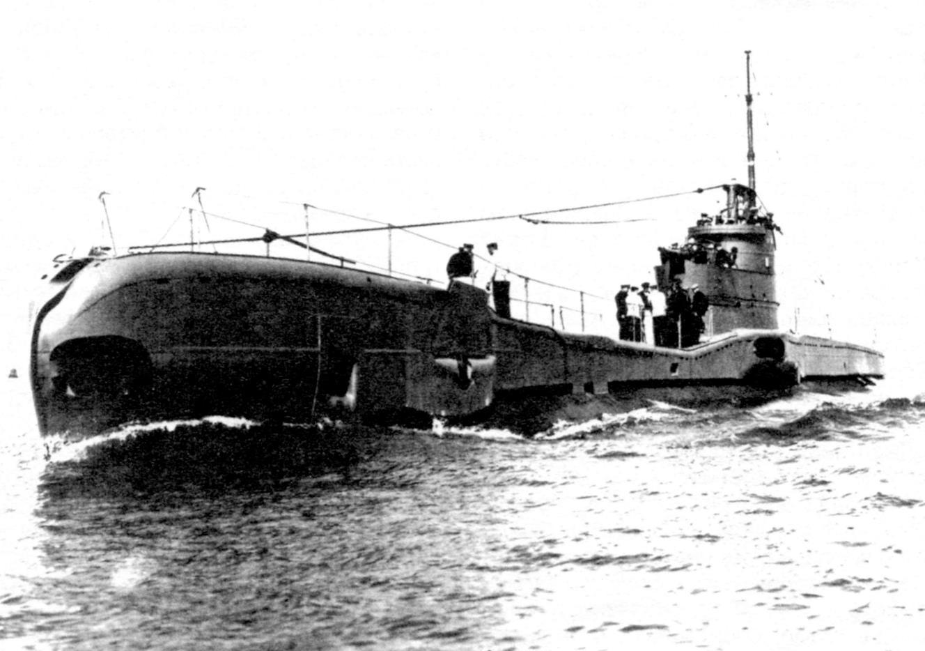 Подводная лодка «Тритон» (тип «Т», серия I), Англия, 1938 г.