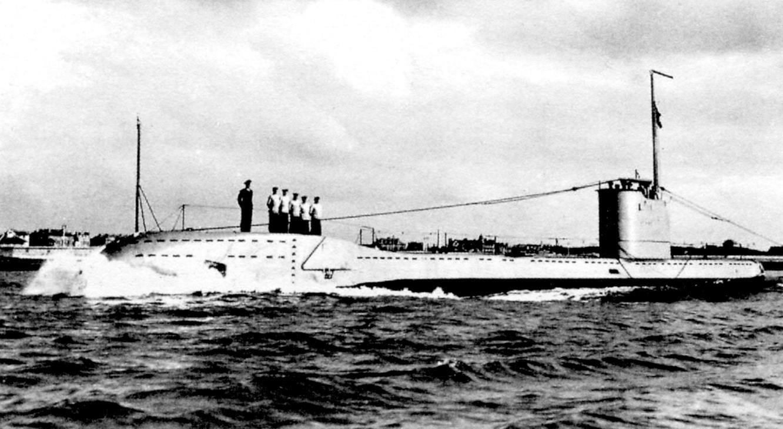 Подводная лодка «Ундина» - головная лодка типа «U»