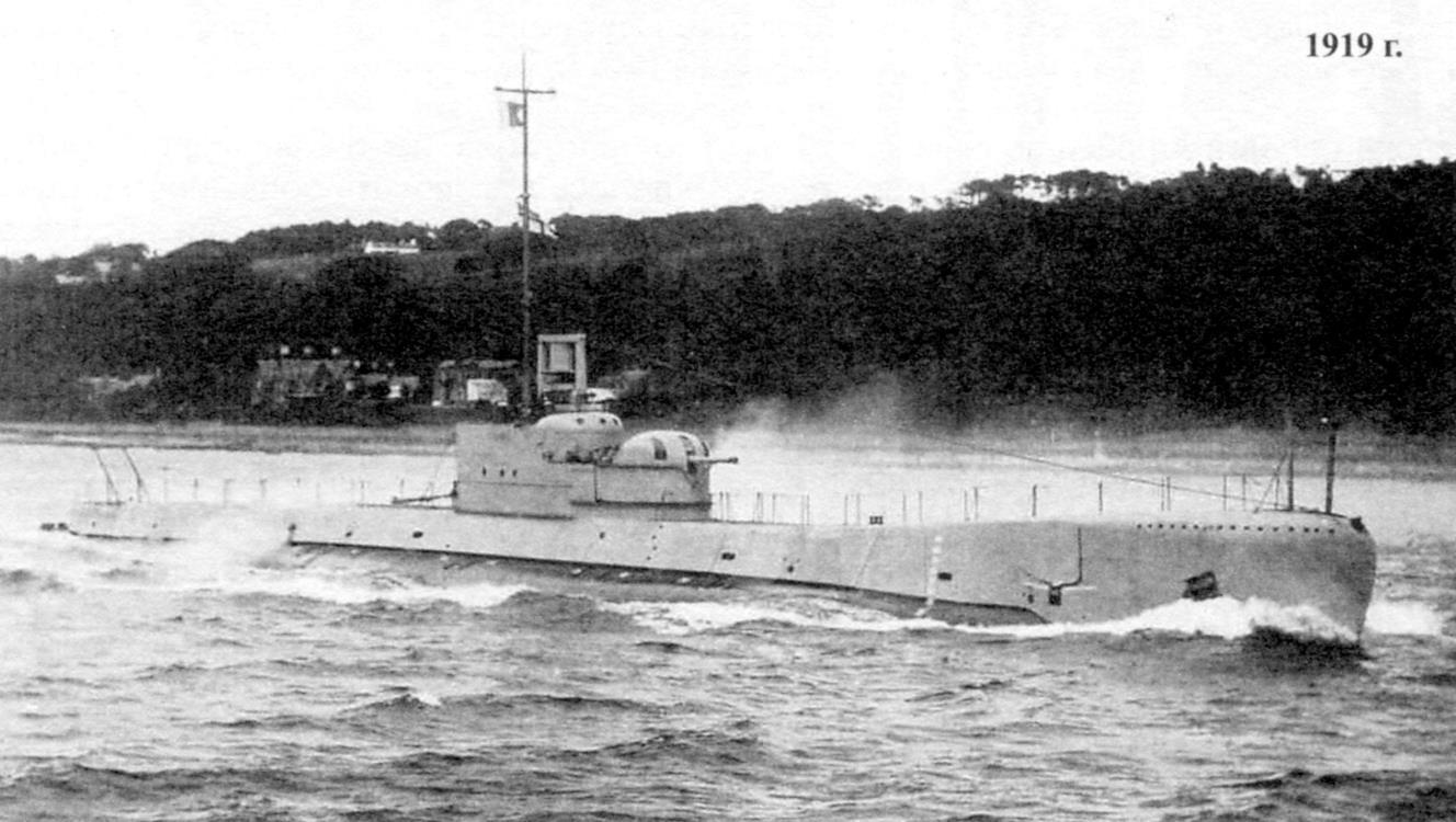 Подводная лодка «Темз» - головная субмарина типа «Ривер» (реки)