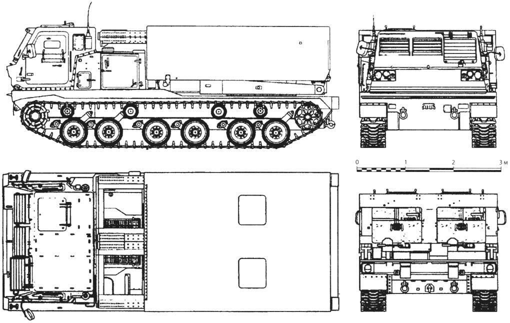 Боевая машина РСЗО М270 MLRS