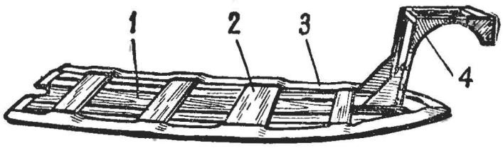 Рис. 3. Рыбина и кронштейн в сборе