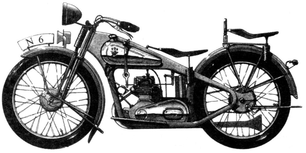 Рисунок мотоцикла 1М 350